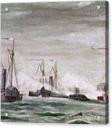 Civil War: Naval Battle Acrylic Print