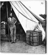 Civil War Soldier Acrylic Print
