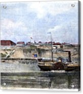 Civil War: Union Steamer Acrylic Print
