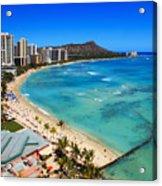 Classic Waikiki Acrylic Print