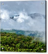 Clearing Storm West Virginia Highlands Acrylic Print
