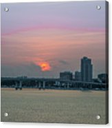 Clearwater At Sunrise Acrylic Print