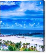 Clearwater Beach, Florida Acrylic Print