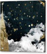 Cloud Cities New York Acrylic Print