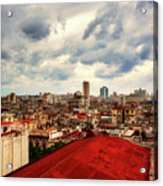 Clouds Over Havana Acrylic Print