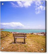Coastal Landscape Near Padre Island Texas Acrylic Print