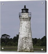 Cockspur Lighthouse Acrylic Print