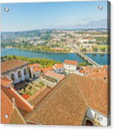 Coimbra Aerial View Acrylic Print