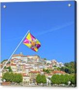 Coimbra Skyline Portugal Acrylic Print