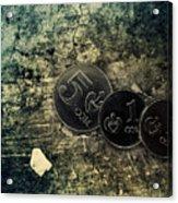 Coin Acrylic Print
