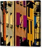 Collioure Street Acrylic Print