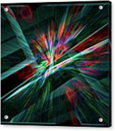 Color Burst Acrylic Print