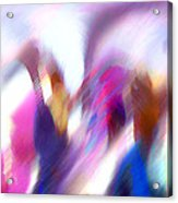 Color Dance Acrylic Print