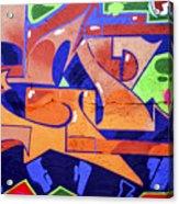 Colorful Abstract Street Art  Acrylic Print