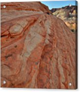 Colorful Sandstone Wave In Valley Of Fire Acrylic Print