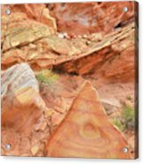 Colorful Wash 3 In Valley Of Fire Acrylic Print