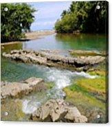 Colorful Waterway Acrylic Print