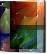 Coloured Lights II Acrylic Print