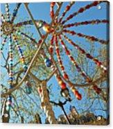 Colourful Canopy Acrylic Print