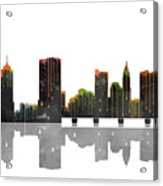 Columbus Ohio Skyline Acrylic Print
