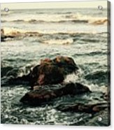 Breaking The Waves Acrylic Print