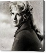 Connie Stevens, Vintage Actress Acrylic Print