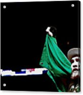 Conor Mcgregor And His National Colors Acrylic Print