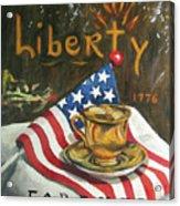 Contemplating Liberty Acrylic Print