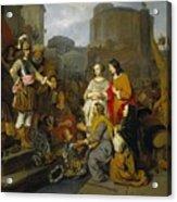 Continence Of Scipio Acrylic Print