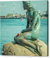 Copenhagen Little Mermaid Acrylic Print