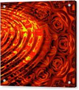 Copper Rose Acrylic Print
