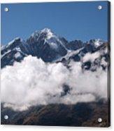 Cordillera Real And Illampu Acrylic Print