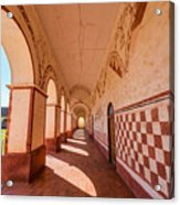 Corridor And Arches Acrylic Print