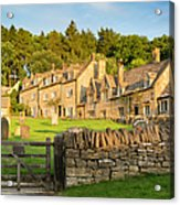 Cotswolds Evening Acrylic Print