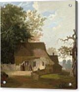 Cottage Scenery Acrylic Print