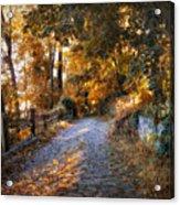 Country Cobblestone Acrylic Print
