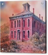 Courthouse Belmont Ghost Town Nevada Acrylic Print