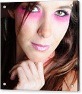 Covergirl Acrylic Print