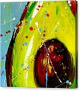 Crazy Avocado Acrylic Print