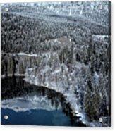 Cresta Lake Acrylic Print
