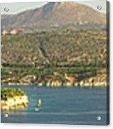 Crete Panoramic Acrylic Print