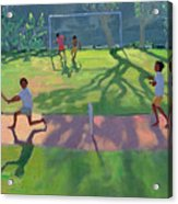Cricket Sri Lanka Acrylic Print by Andrew Macara