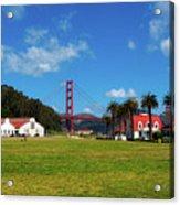Crissy Field - San Francisco Acrylic Print