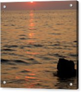 Croatian Sunsets Acrylic Print