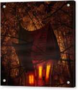 Crooked House Acrylic Print