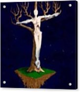 Crucifix Acrylic Print