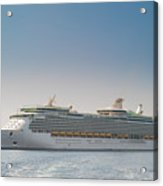 Cruise Ship Acrylic Print