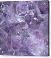Crystal Cave Acrylic Print