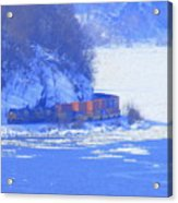 Csx Train Acrylic Print
