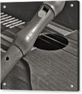Cuatro Guitar And Flute Acrylic Print
